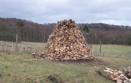 log-pile