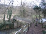 River Stour footbridge near Amblecote